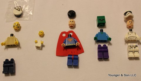 We've got minifigures from many different themes.