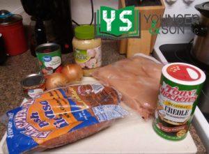 ingredients for crockpot jamba