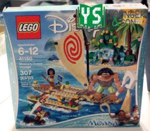 Moana's Ocean Voyage set# 41150