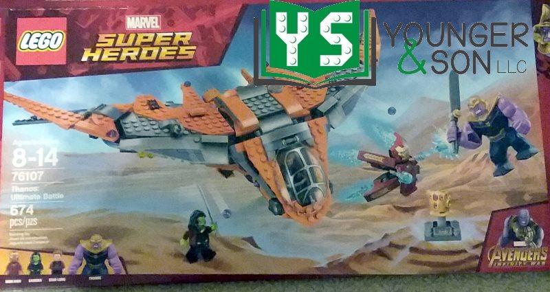 LEGO set 76107