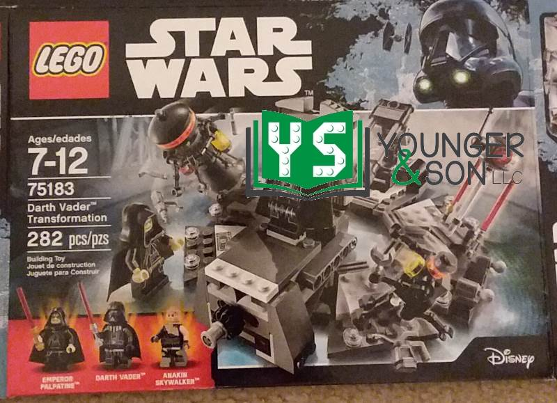 picture of the LEGO set 75183 Darth Vader Transformation