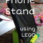 DIY Phone Stand using LEGO